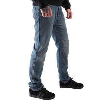 hlače moški (kavbojke) GLOBE - Coverdale - Umazano Les, GLOBE
