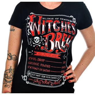 majica gotsko in punk ženske - Witches Brew - TOO FAST