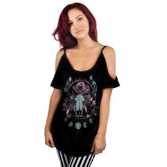 majica gotsko in punk ženske - Cosmic Cow - TOO FAST, TOO FAST