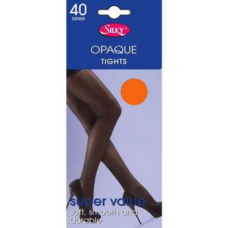 nogavice Legwear - 40 denier opaque - Neon Oranžna, LEGWEAR
