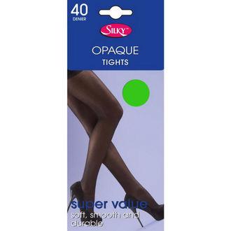 nogavice Legwear - 40 denier opaque - Neon Zelena, LEGWEAR