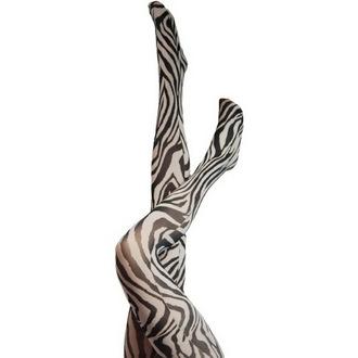 nogavice Legwear - Signature Zebra - Črno / Bela, LEGWEAR