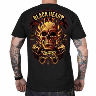 Moška majica BLACK HEART - HELL BOY - ČRNA, BLACK HEART