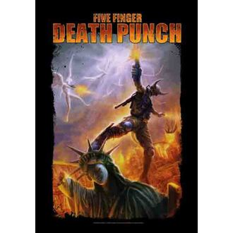 zastava Five Finger Death Punch - Battle Of The God, HEART ROCK, Five Finger Death Punch