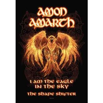 zastava Amon Amarth - Burning Eagle, HEART ROCK, Amon Amarth