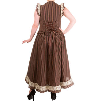 obleko ženske BANNED - Brown Stripe, BANNED
