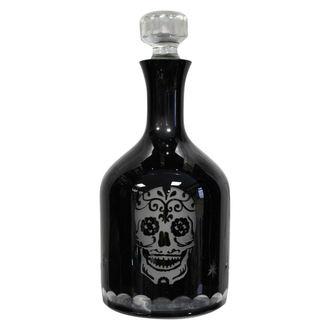 Steklenica Sugar Skull Decanter, Nemesis now