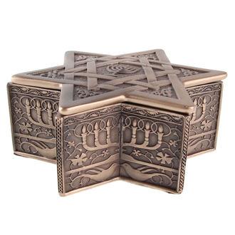 škatla (dekoracija) zvezda za David & Menorah