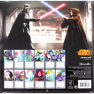 koledar do leto 2016 - Star Wars, NNM