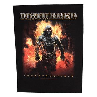 Našitek velik Disturbed - Indestructible - RAZAMATAZ, RAZAMATAZ, Disturbed