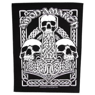 Našitek velik Amon Amarth - Three Skulls - RAZAMATAZ, RAZAMATAZ, Amon Amarth