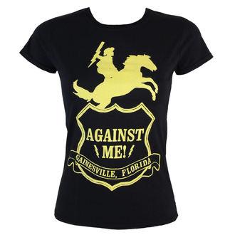 majica kovinski ženske Proti Jaz! - Against Me -Shield - KINGS ROAD, KINGS ROAD, Against Me!