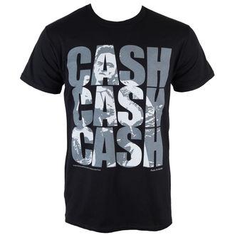 majica kovinski moški Johnny Cash - Cash Cash Cash - PLASTIC HEAD, PLASTIC HEAD, Johnny Cash
