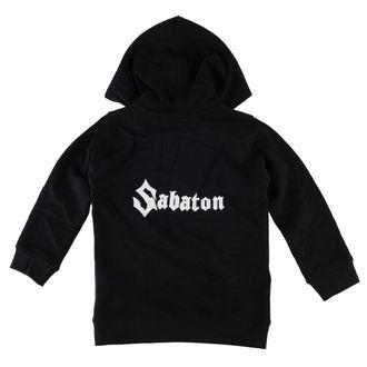 jopa s kapuco otroci Sabaton - Logo - Metal-Kids, Metal-Kids, Sabaton