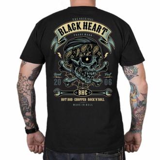 Moška majica BLACK HEART - Bandana BOY - ČRNA, BLACK HEART
