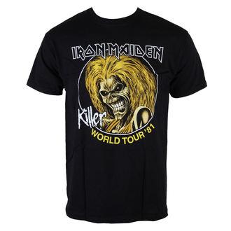 Metal majica moški Iron Maiden - Killers World Tour 81 - ROCK OFF - IMTEE43MB