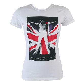 majica kovinski ženske Queen - Flag - BRAVADO, BRAVADO, Queen