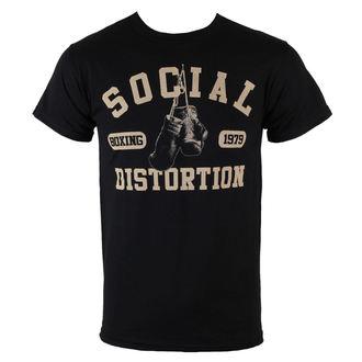 majica kovinski moški Social Distortion - Boxing Gloves - BRAVADO, BRAVADO, Social Distortion