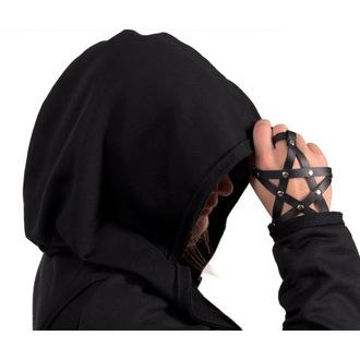 jopa s kapuco ženske unisex - Black - AMENOMEN - DESIRE-011