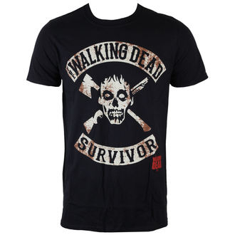 film majica moški The Walking Dead - Survivor - INDIEGO, INDIEGO, The Walking Dead