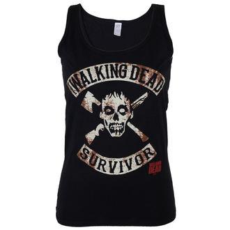 ženski top  The Walking Dead - Survivor - Črno - INDIEGO, INDIEGO, The Walking Dead