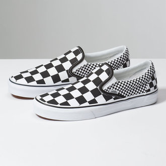 Uniseks nizke superge - UA CLASSIC SLIP-ON (MIX CHECKER) - VANS, VANS