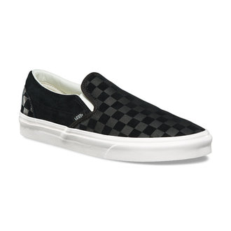 Uniseks nizke superge - UA CLASSIC SLIP-ON (CHECKER EM) - VANS, VANS