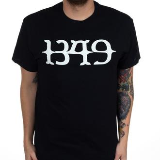 Moška majica 1349 - Bel Logo - Črna - INDIEMERCH, INDIEMERCH, 1349