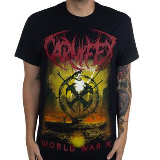Moška majica Carnifex - World War X - Črna - INDIEMERCH, INDIEMERCH, Carnifex