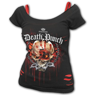 Ženska metal majica Five Finger Death Punch - Five Finger Death Punch - SPIRAL, SPIRAL, Five Finger Death Punch