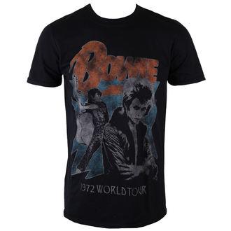 majica kovinski moški David Bowie - 1972 World Tour - ROCK OFF, ROCK OFF, David Bowie