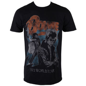 Metal majica moški David Bowie - 1972 World Tour - ROCK OFF, ROCK OFF, David Bowie