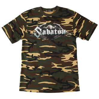 majica moški Sabaton - Inmate Camouflage - NUCLEAR BLAST - 2292 - ZAŠČITA, NUCLEAR BLAST, Sabaton