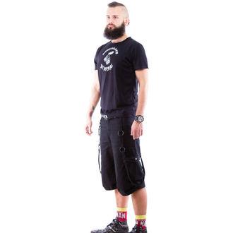 kratke hlače moški NECESSARY EVIL - Mider - Črno, NECESSARY EVIL