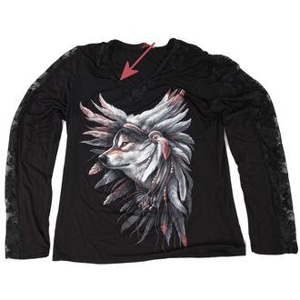 majica ženske z dolgo rokav SPIRAL - Spirit Of The Wolf - ZAŠČITA, SPIRAL