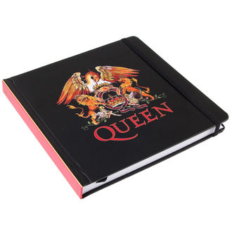 pisanje notepad Queen - Logo - ROCK OFF, ROCK OFF, Queen