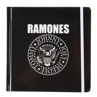 pisanje notepad Ramones - Presidential Seal - ROCK OFF, ROCK OFF, Ramones
