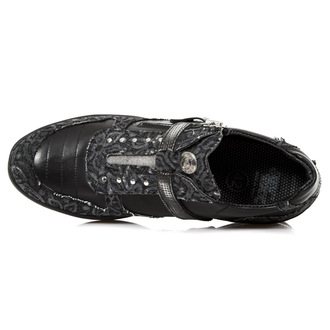 usnje čevlji ženske - FLORAL DENIM NEGRO - NEW ROCK, NEW ROCK