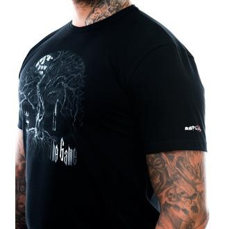 Moška majica ART BY EVIL - The Game - Črno, ART BY EVIL
