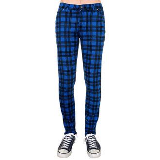 hlače (unisex) 3RDAND56th - Checked - Črno / Royal, 3RDAND56th
