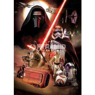 plakat Star Wars - Epizoda VII (Montaža) - PYRAMID POSTERS, PYRAMID POSTERS