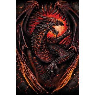 plakat Spiralna - Dragon Furnace - PYRAMID POSTERS, PYRAMID POSTERS