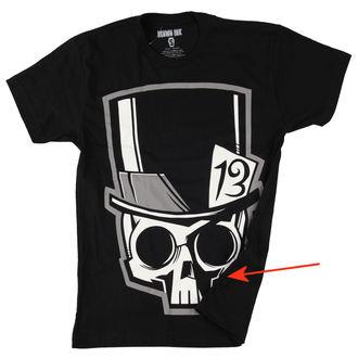 majica moški Akuma Črnilo - Skull13 - Siva- ZAŠČITA, Akumu Ink