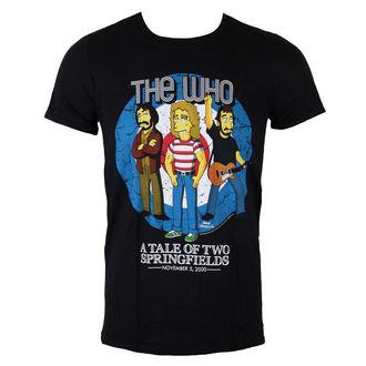majica kovinski moški Who - The Who Bullseye (Simpsoni) - LIVE NATION, LIVE NATION, Who