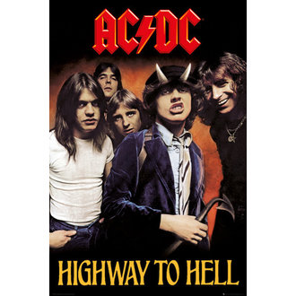 Plakat AC / DC - Highway To Hell - GB posters, GB posters, AC-DC