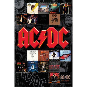 Plakat AC / DC - Covers - GB posters, GB posters, AC-DC