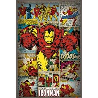 plakat Čuditi Stripi - Iron Man Retro - PYRAMID POSTERS, PYRAMID POSTERS