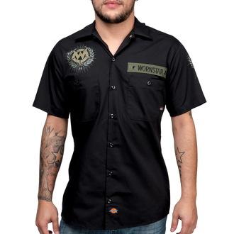 majica moški WORNSTAR - SGT - Črno, WORNSTAR