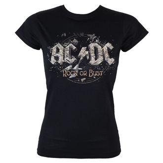 majica kovinski ženske AC-DC - - LOW FREQUENCY, LOW FREQUENCY, AC-DC