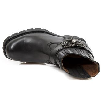 usnje čevlji ženske - ITALI MOTORCYCLE NEGRO - NEW ROCK, NEW ROCK